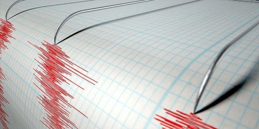 İzmir'in Urla ilçesi açıklarında 4,3 büyüklüğünde deprem