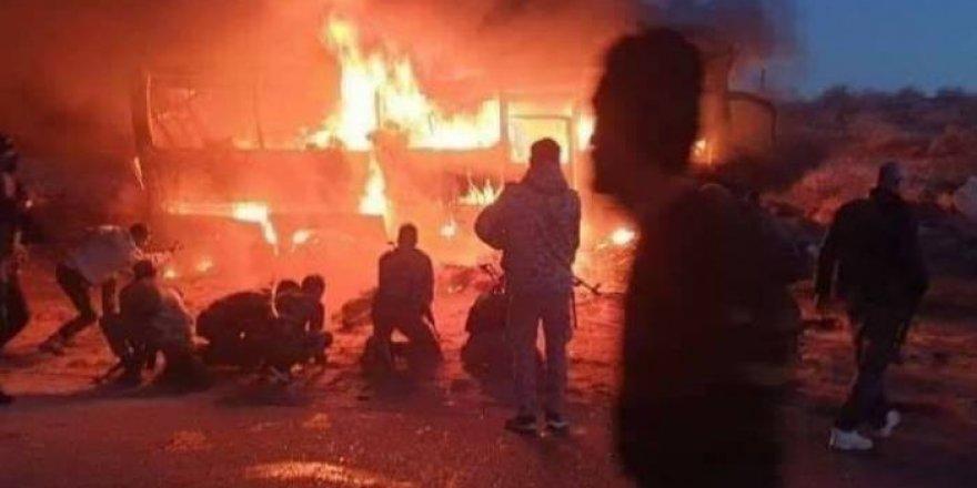 Rejim konvoyuna taarruz: Onlarca Esed milisi öldü