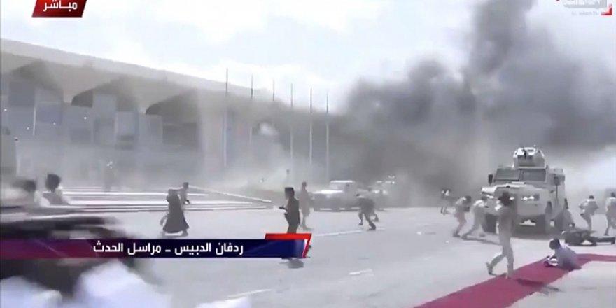 Aden Havalimanı'na yönelik saldırıda İran şüphesi