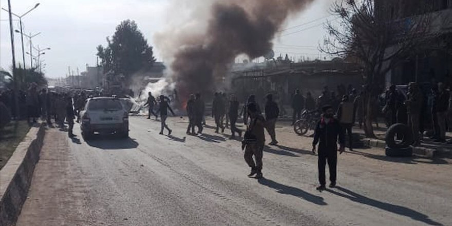 Rasulayn'da bomba yüklü araçla düzenlenen saldırıda 2 çocuk öldü, 4 sivil yaralandı