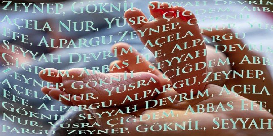 """Türkiye'de 2020 yılında en çok tercih edilen isimler """"Yusuf"""" ve """"Zeynep"""" oldu"""