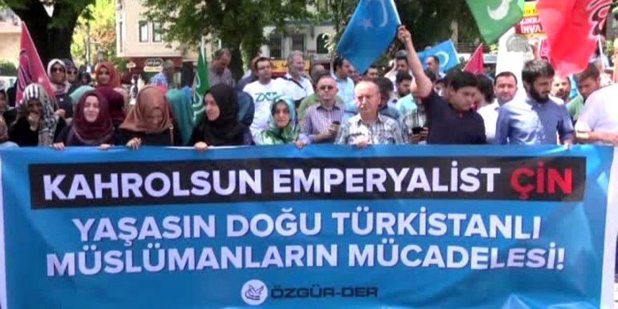 Doğu Türkistanlı kardeşlerimizin mücadelesine destek çağrısı
