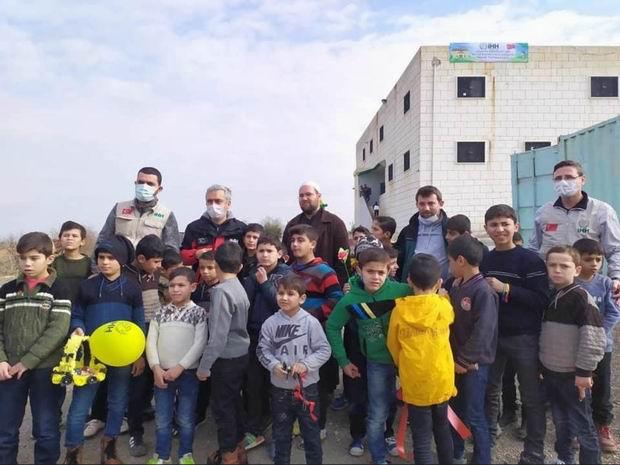 Merzifon İHH Afrin ve Cerablus'ta 3 yetimhanenin açılışını gerçekleştirdi
