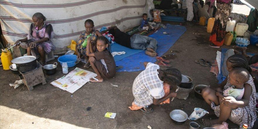 Etiyopya'daki çatışmalar nedeniyle Sudan'a sığınanların sayısı 64 bine yaklaştı