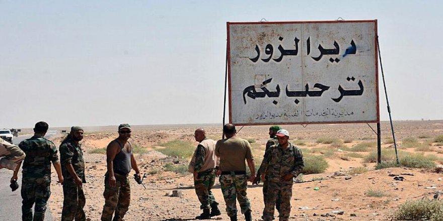 İsrail'in Deyrizor'daki saldırılarında rejim ordusu ve İran destekli gruplardan 60 kişi öldü