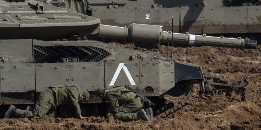 Siyonist İsrail'den Gazze'ye tank atışı