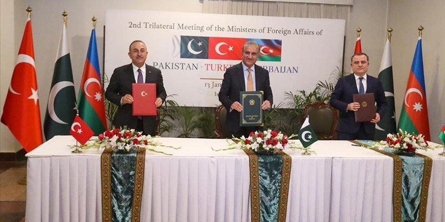 Türkiye, Azerbaycan ve Pakistan 'İslamabad Deklarasyonu'nu imzaladı