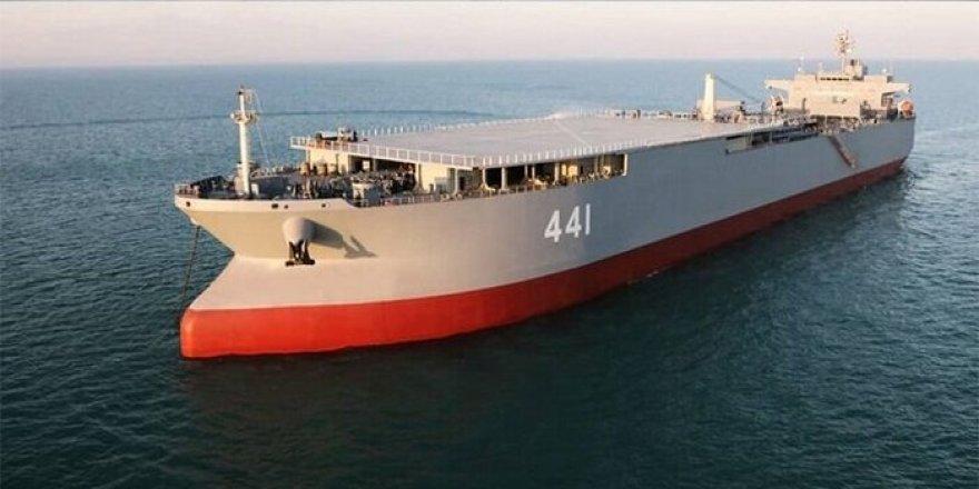 İran'ın en büyük savaş tankeri(!)