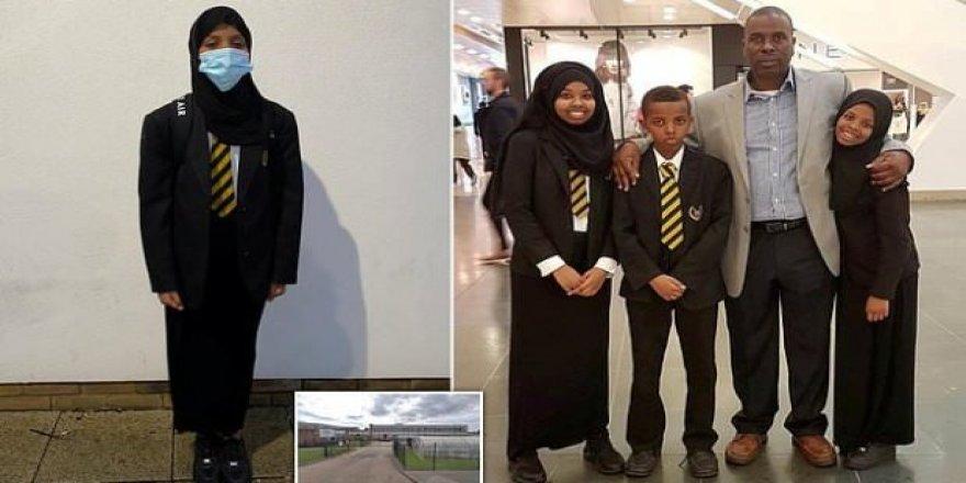 İngiltere'de Müslüman öğrenciye kısa etek dayatması