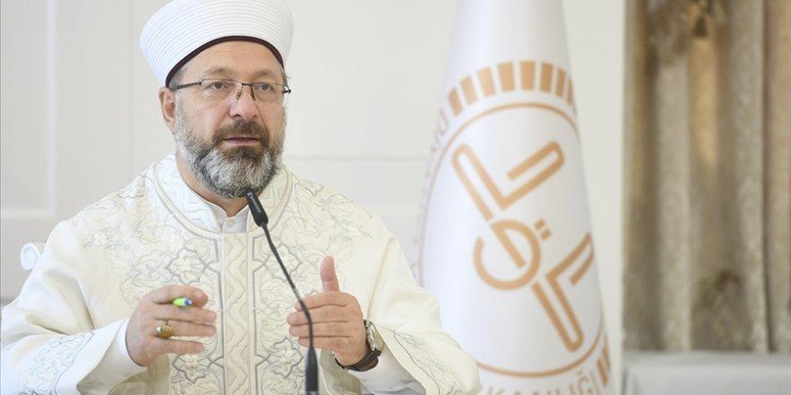 Ali Erbaş'tan Yunanistan Başpiskoposu İeronimos'un Müslümanlara hakaret etmesine tepki