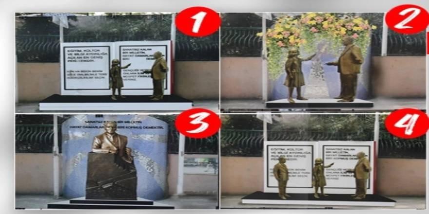 Heykel saçmalığında CHP kendini aşıyor