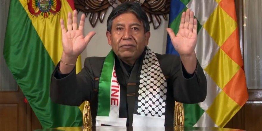 Bolivya Devlet Başkan Yardımcısı Choquehuanca'dan Filistin mesajı