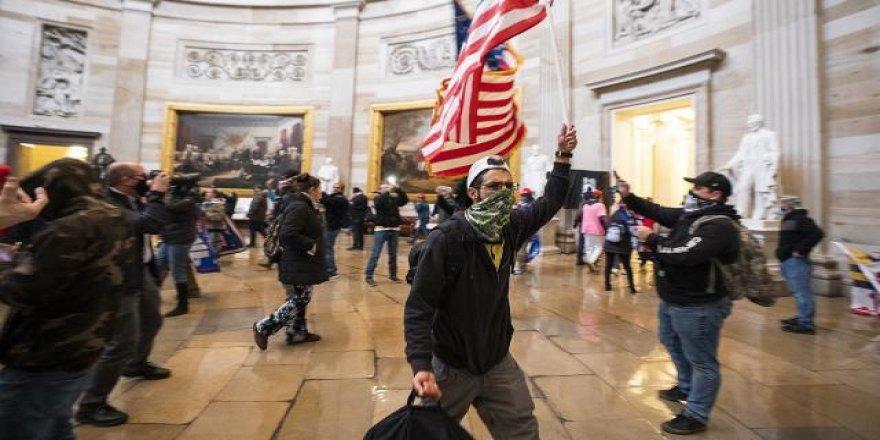 ABD'de Kongre baskını gözaltıları sürüyor