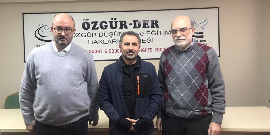 İlim ve Kültür Merkezi Vakfı'ndan Özgür-Der'e ziyaret
