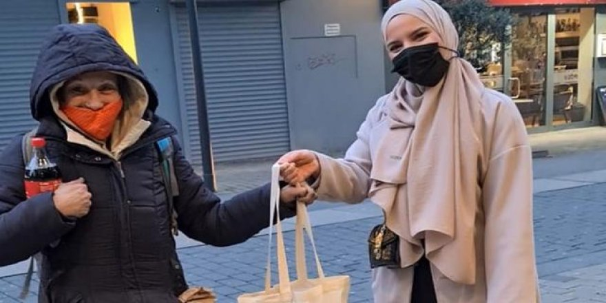 Almanya'da Müslüman gençlerden evsizler için yardım kampanyası