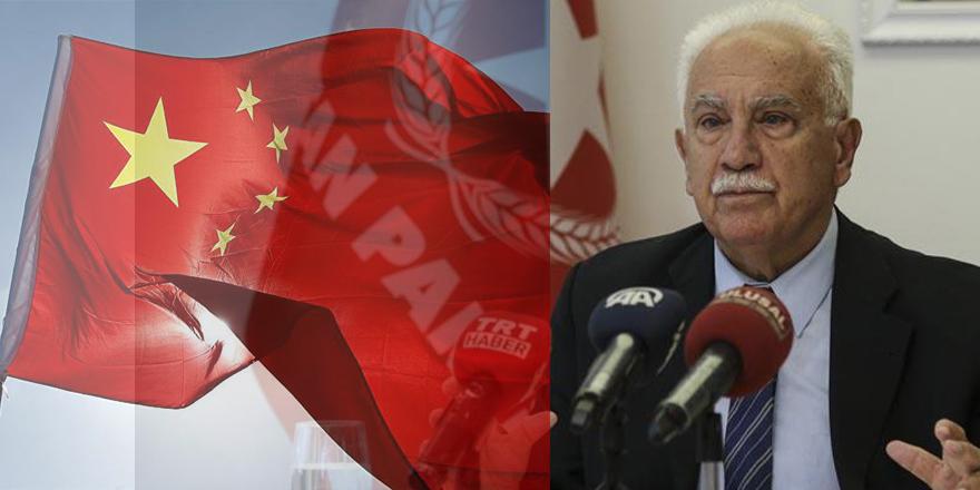 """Cinping Perinçek, """"Uygurların gerçek savunucuları biziz"""" dedi"""