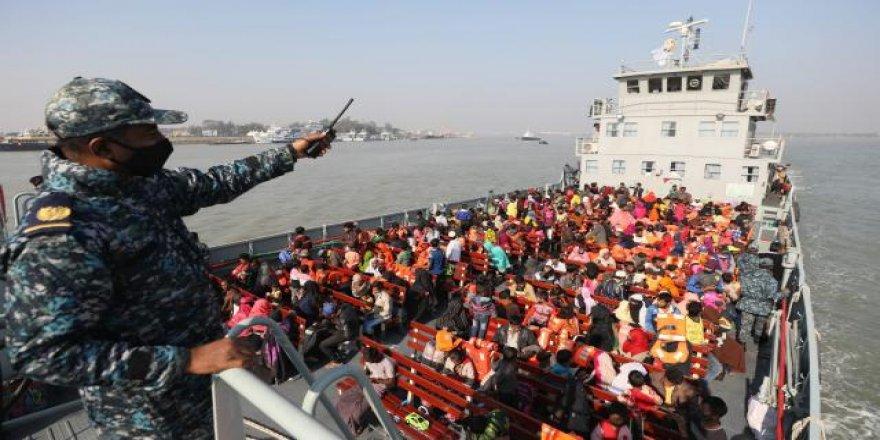 1178 Arakanlı Müslüman daha Bhasan Char Adası'na gönderildi