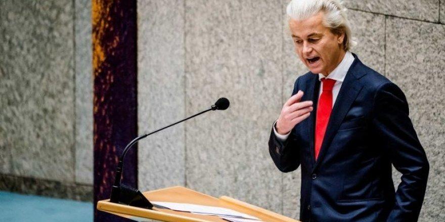 Hollanda'da ırkçı-faşist Wilders'in partisi için 'kapatılsın' talebi