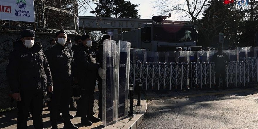 """""""Gözaltına alınan 159 şüpheliden 102'si Boğaziçi'nde okumuyor"""""""