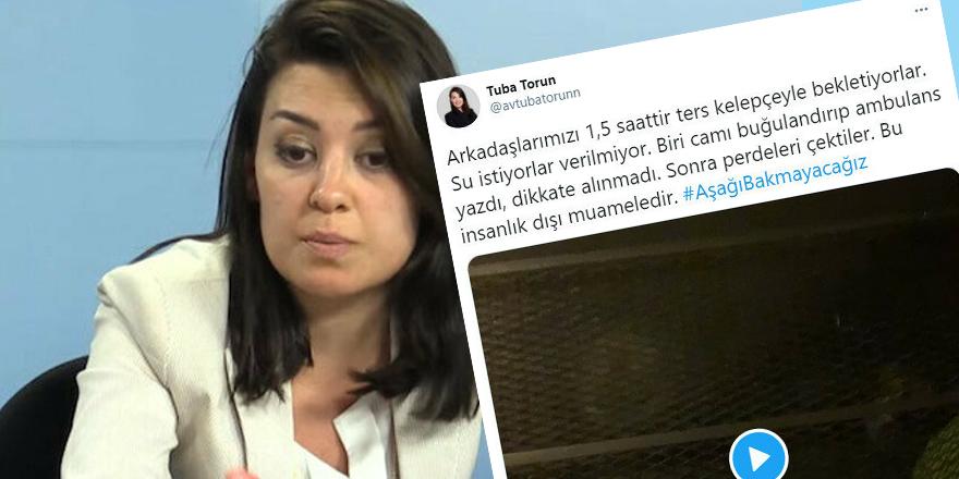 """CHP'li Torun'un """"Ters kelepçeyle cama ambulans"""" yazdılar söylemi alay konusu oldu"""