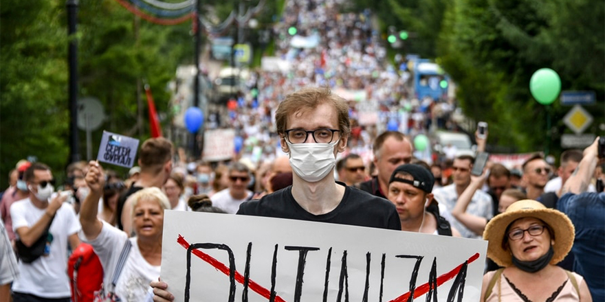 Avrupa medyasında, gösterilerle sarsılan Putin'in geleceği tartışılıyor
