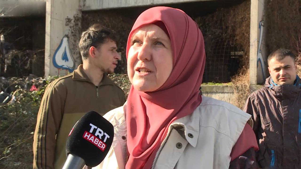 Bosnalı hayırsever kadın, göçmenlere 'annelik' yapıyor