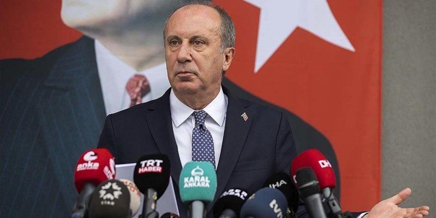 CHP'den istifa edeceğini açıklayan Muharrem İnce bol keseden Atatürkçülük dağıttı