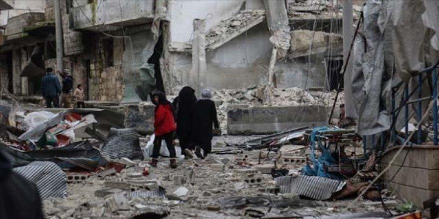 Esed rejimi İdlib'de sivilleri hedef aldı