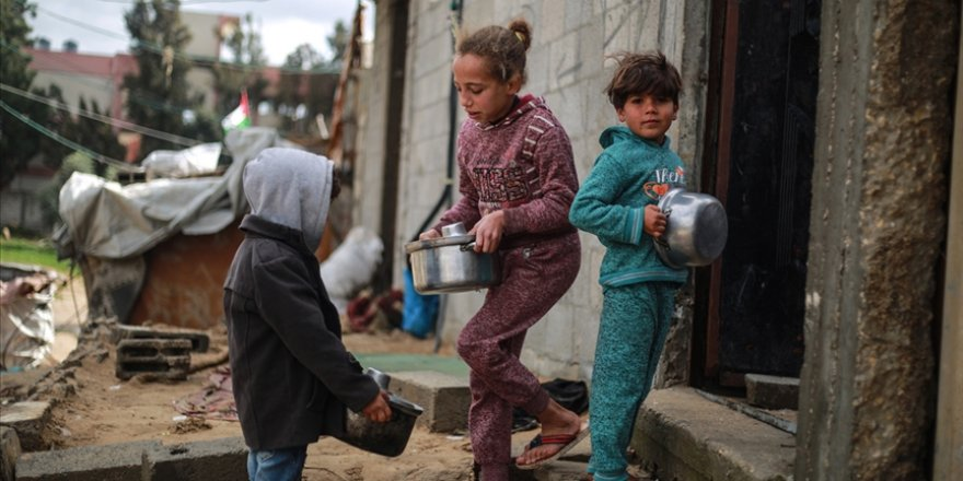 BM raporuna göre Filistinlilerin yarısı insani yardıma muhtaç