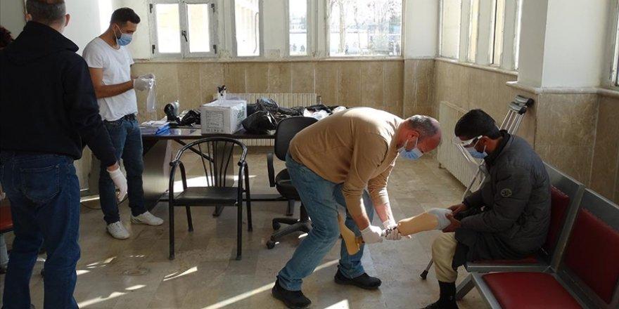 AID'den Suriyeli engellilere ortez-protez desteği