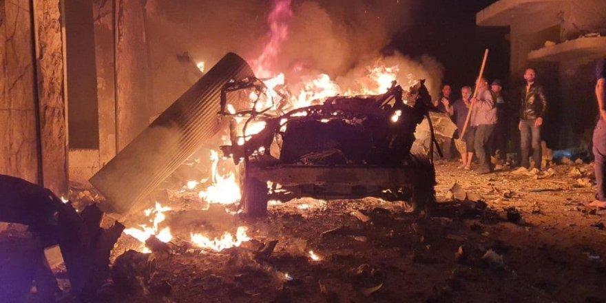 Suriye'nin kuzeyindeki Azez'de terör saldırısı