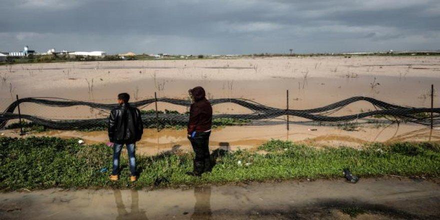 İsrail baraj kapaklarını açıyor: Gazze'deki arazilerde zarar 1,5 milyon dolar