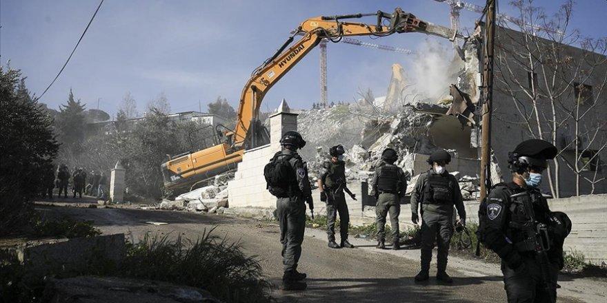 İşgal güçleri Mescid-i Aksa Koruma Müdürü'nün Kudüs'teki evini yıktı