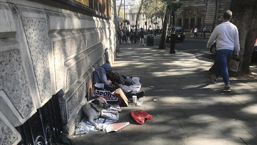 Birleşik Krallık'ta geçen yıl 976 evsiz hayatını kaybetti