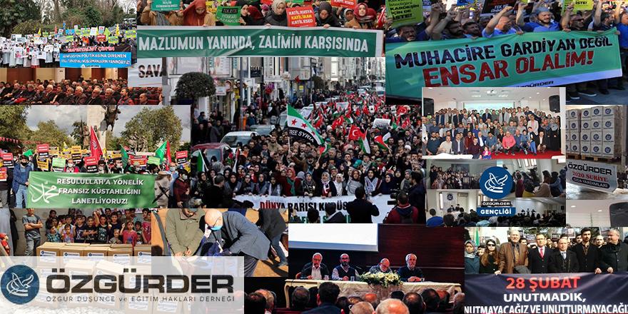 28 Şubat zorbalığına karşı kurulan Özgür-Der 22 yaşında