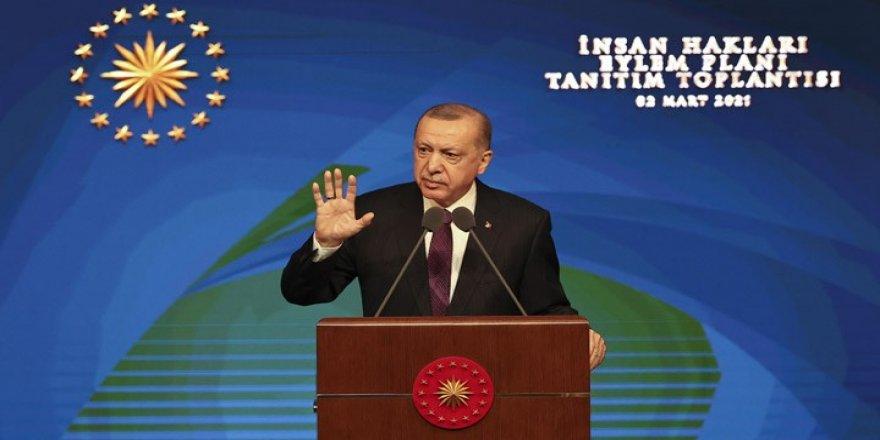 Cumhurbaşkanı Erdoğan İnsan Hakları Eylem Planı'nı açıkladı