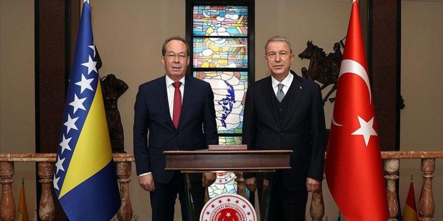 Türkiye ile Bosna arasında Askeri Mali İşbirliği Anlaşması imzalandı