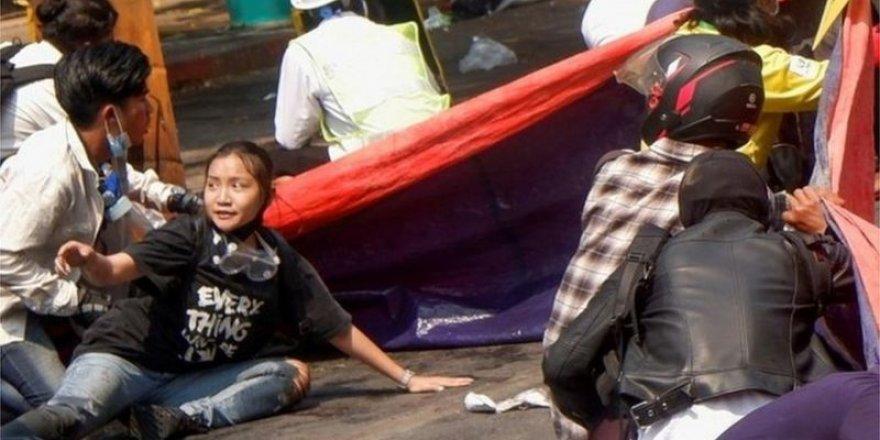 Myanmar'da darbe sonrası en kanlı gün