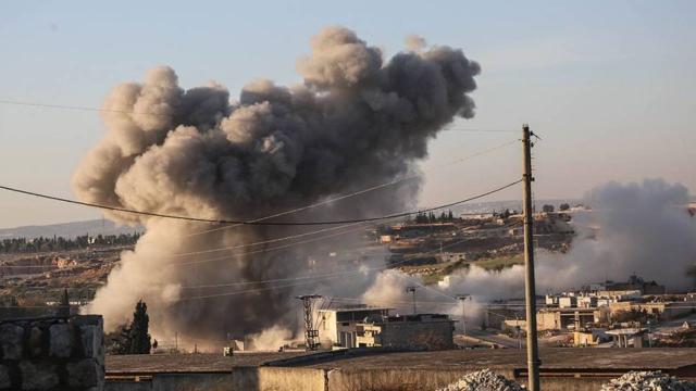 Esed rejiminden İdlib'e saldırı: 6 sivil yaralı