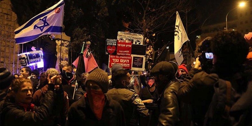 Binlerce Yahudi Netanyahu karşıtı gösteri düzenledi