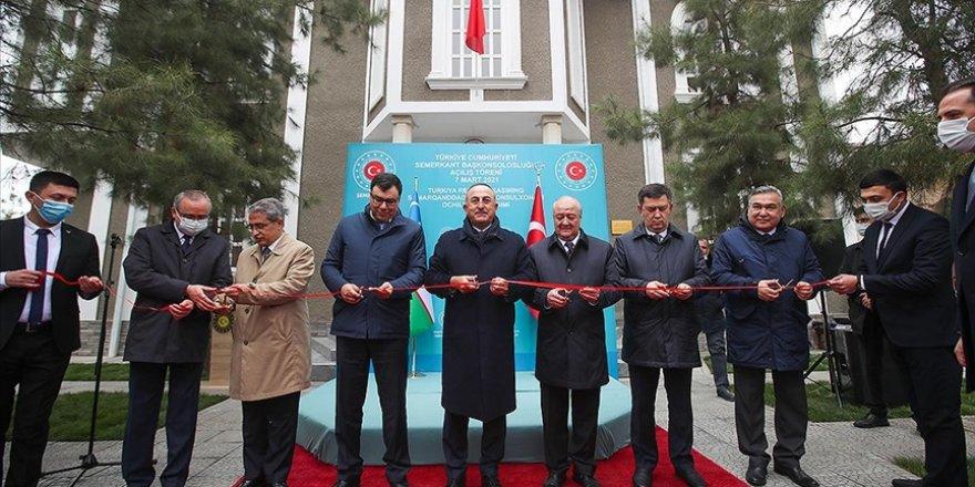 Türkiye'nin Semerkant Başkonsolosluğu açıldı
