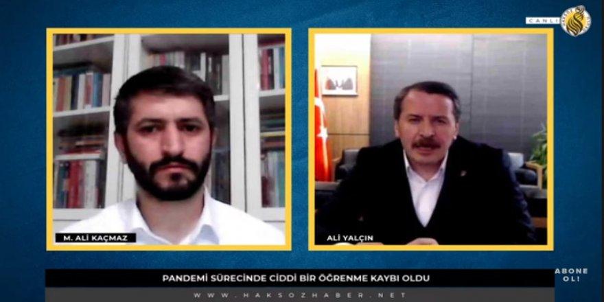 Memur-Sen Genel Başkanı Ali Yalçın Haksöz Okulu'nun sorularını cevapladı