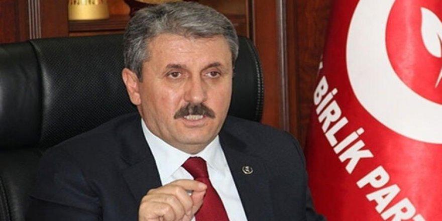 """BBP Genel Başkanı Destici: """"Papa'nın Sistani'yi evinde ziyaret etmesi manidar"""""""