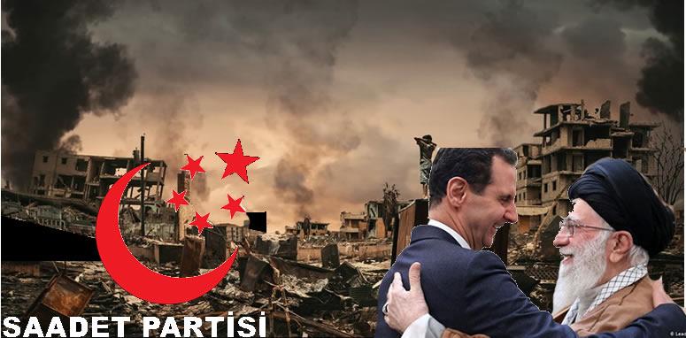 Bir Saadet klasiği: İran, Rusya ve Esedsiz Suriye'yi anlatmak!