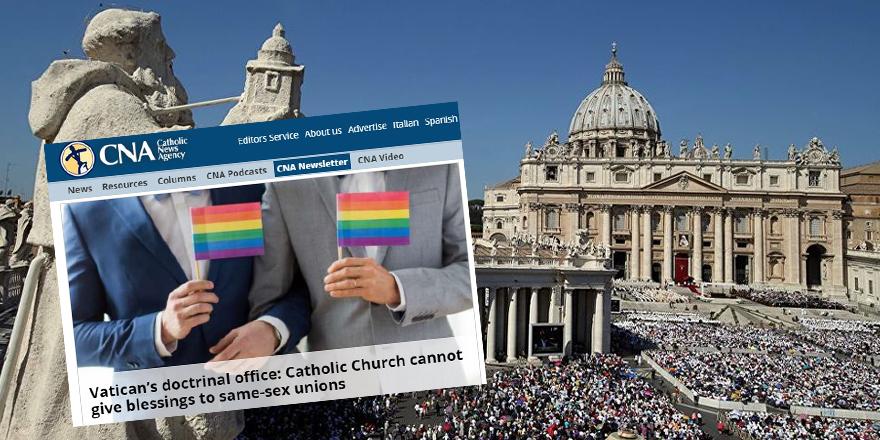"""Yaratılışa aykırılığa Vatikan da """"Hayır!"""" diyor"""