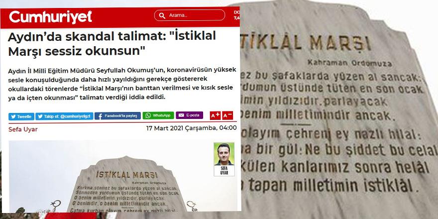 Kemalist Eğitim-İş Sendikası sinsi planı nasıl da tespit etmiş!