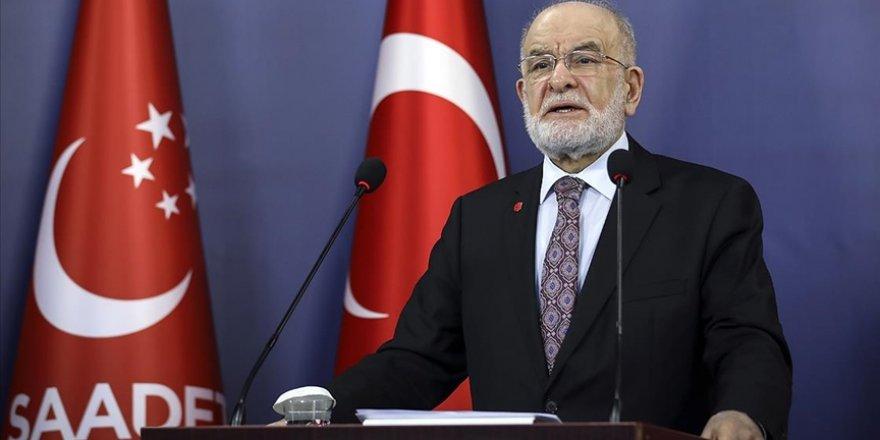 """Karamollaoğlu: """"Her sabah 'Andımız'ı tekrar ederek bir ülke ayağa kalkmaz"""""""