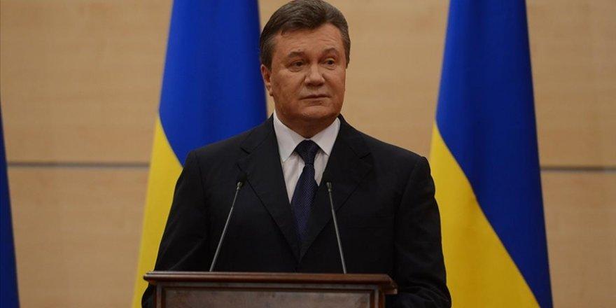 Ukrayna'dan Rus uşağı eski Devlet Başkanı Yanukoviç'e yaptırım