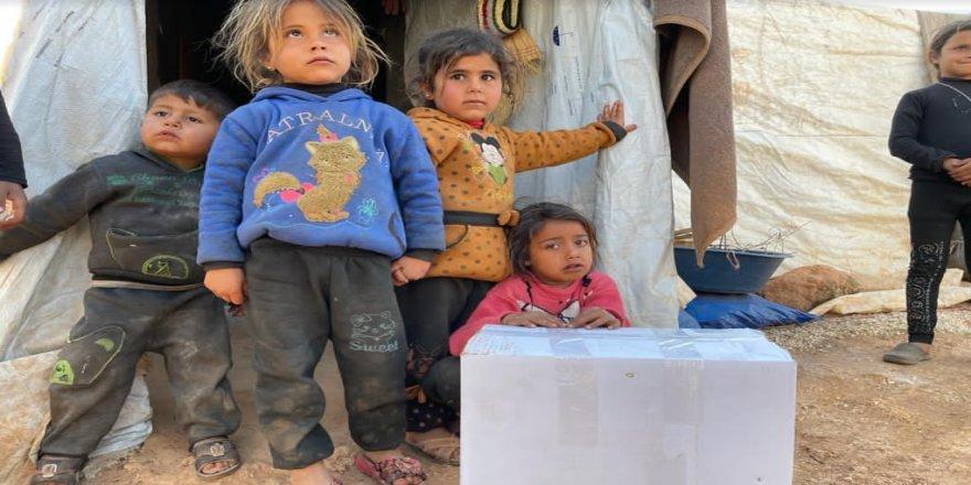 İdlib'e yönelik yardım çabalarımızı Ramazan'da artıralım!