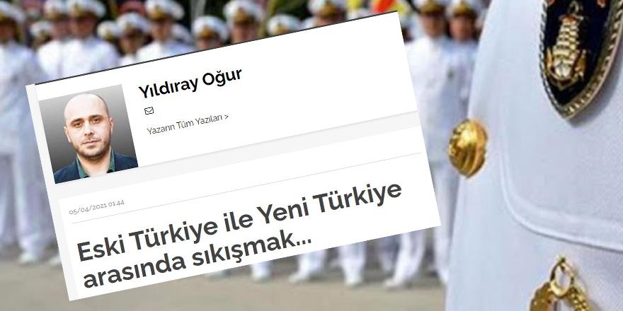 Eski Türkiye ile yeni Türkiye arasında...